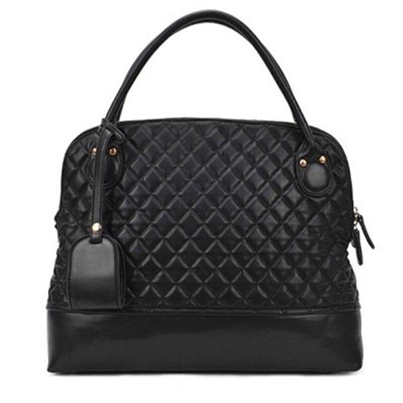 Women bag 2017 new winter fashion handbags large bag Europe and the United States retro bag handbag big tide large Lingge bag<br><br>Aliexpress