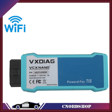 WIFI Version VXDIAG VCX NANO for TOYOTA TIS Techstream V10.10.018 Compatible with SAE J2534 Free Shipping