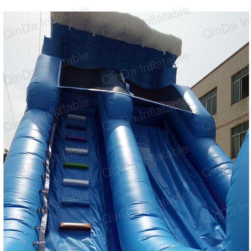 inflatable bouncer slide fun city castle(44)