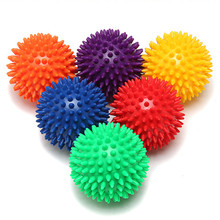 9cm / 7cm Spiky Point Massage Ball Roller Reflexology Stress Relief for Palm Foot Arm Neck Back Body 5 Colors Choose(China)