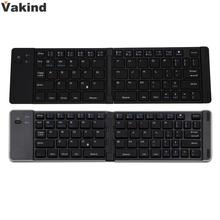 New Portable Mini Ultra Slim Foldable Folding Bluetooth Wireless Keyboard For iPad-Android Tablet PC