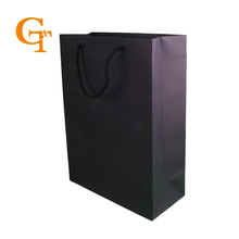 fancy black Set of 10  Paper Small Gift Bags Sandwich Bread Food Paper Bags With Handles for shops Party Wedding Favour
