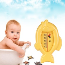 Buy Cartton Lovely Fish Baby Water Thermometer Plastic Water Temperature Tester Thermometer Float infant Bath Tub Floating Toys for $5.02 in AliExpress store