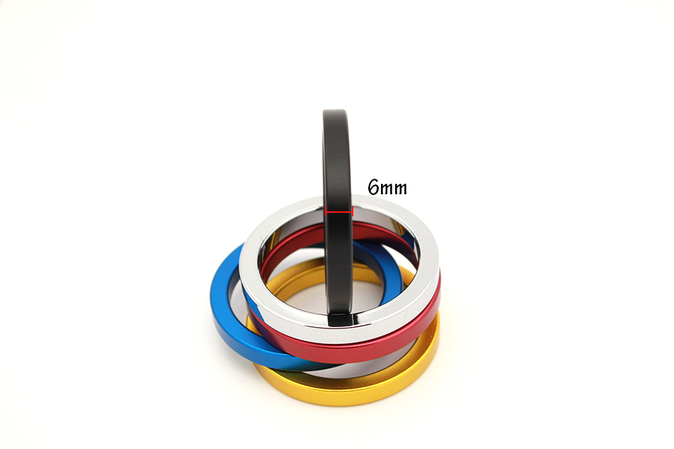 QRTA multiple Colour Space aluminum Penis Rings Cock Ring Adult Products Delay Male Masturbation Health Fun Happy Sex Toys 18