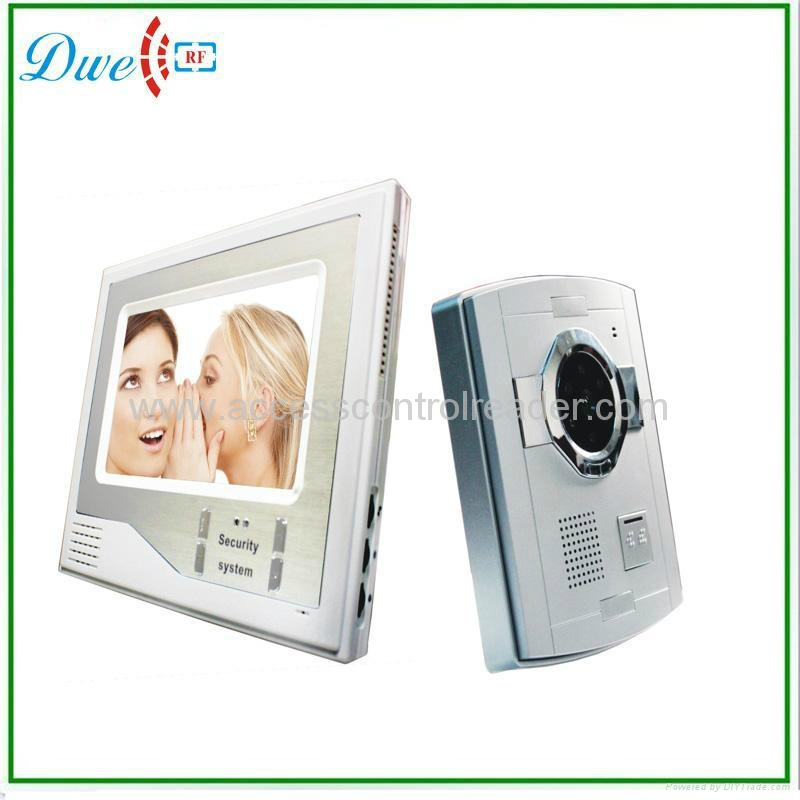 7 inch wired handfree video door phone LCD monitor for video intercom system<br><br>Aliexpress