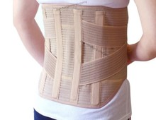 Breathable Lumbar Support Belt Back cartilageTreatment of Lumbar Disc Herniation Lumber Muscle Strain with 4 ABS Support