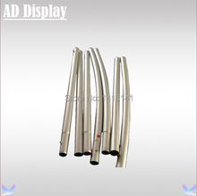 Exhibition Portable Tension Fabric Custom Size Aluminum Banner Stand(Only Stand)