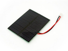 0.5W Epoxy Resin Solar Panel 58x70 With JST Connector For Seeeduino microcontroller series,Lipo Rider charging board series use