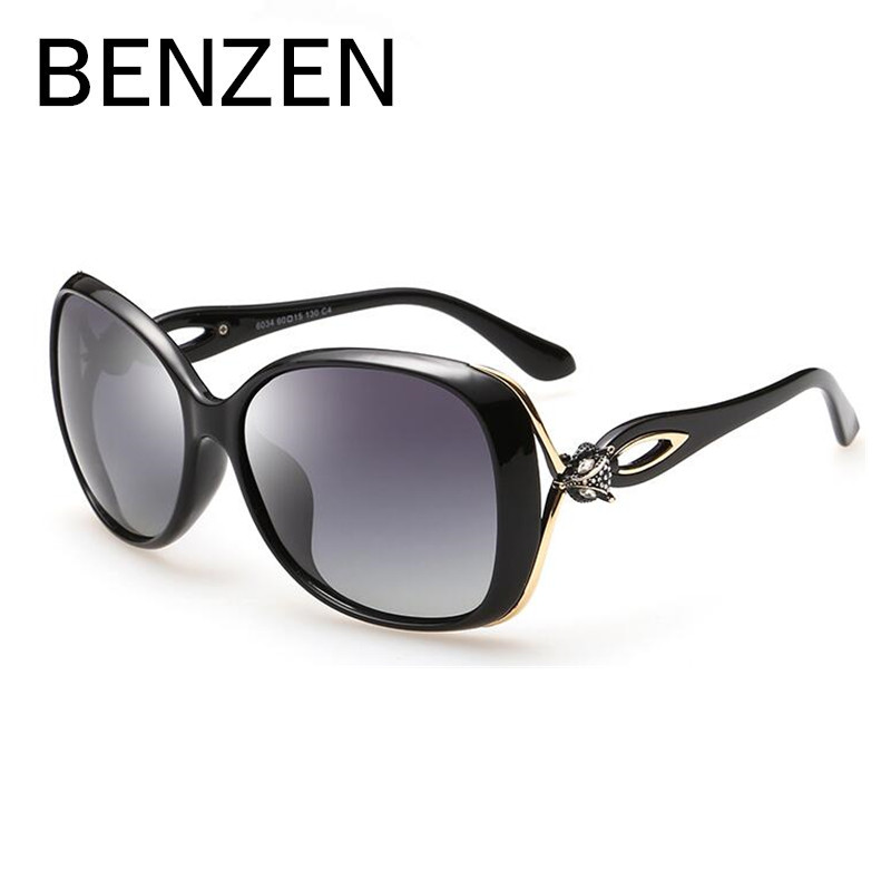 BENZEN Sunglasses Women Polarized Female Sun Glasses For Driving Luxury Ladies Shades  Eyewear Accessories With Case 6179<br><br>Aliexpress