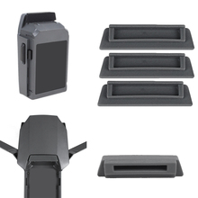 SUNNYLIFE Dust-proof Drone Body Protector Plug Case & 3x Battery Terminal Charging Port Cover Cap Dustplug for DJI Mavic Pro