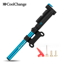 CoolChange bicycle pump household high-pressure inflator pump mini portable hand pump(China)