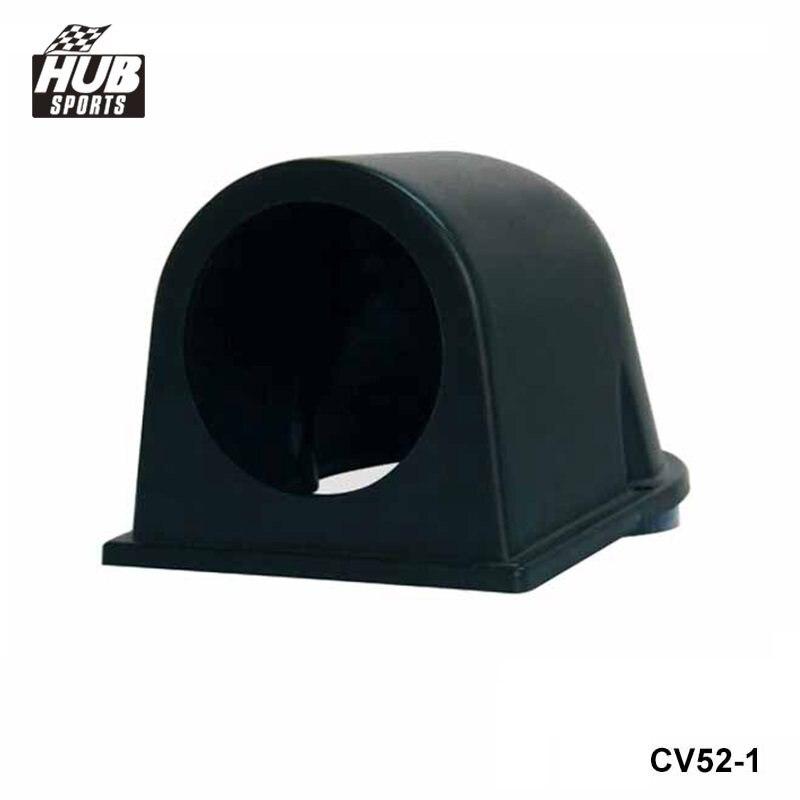 "Hubsports - 2"" 52MM Black ABS Plastic Gauge Meter Dash Dashboard Mount Pod Holder For TOYOTA COROLLA AE86 4A-GE 83-87 HU-CV52-1"