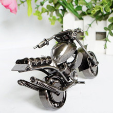 Cool metal craft handmade motorcycle model toy fashion pub/home decoration Christmas gift Promotion