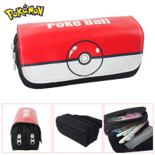 FVIP Cartoon Cosmetic Makeup Pencil Pen Case Bag Pokemon Go Gravity Falls Minecraft  Doctor Who Zelda Pokemon Ball Purse Bag
