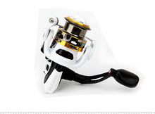 New haibo spinning fishing reel Steed 10S-40S,shallow spool,full metal body,5.2:1,8B+RB,free shipping(China)