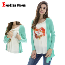 Emotion Moms maternity clothing maternity tops nursing clothes nursing breastfeeding tops pregnancy clothes for pregnant women(Hong Kong)