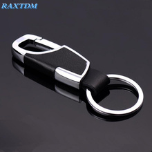 Car styling Metal Firstly layer cowhide keychain Case for Dodge Journey JUVC/Charger/DURANGO/CBLIBER/SXT/DART