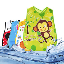 Cute Cartoon newborn baby bibs eva waterproof bib burp cloth feeding baby burp for girls boys saliva towel apron infant bibs(China)