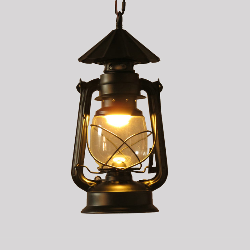 Barn Lantern nostalgic vintage pendant lights project light bar lamps fashion lighting &amp; lamps E27 AC110-240V<br>