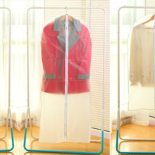 Modern minimalist Great Clothes Clothing Dust Cover Transparent Suit Middle with zipper Dust Cover(China)