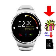 Hot ! Kw18 Bluetooth Smart Watch SmartWatch Phone support SIM TF Card Fitness wristwatch for apple samsung gear S2 huawei(China)