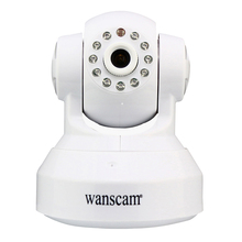 Wanscam Wireless Wifi 720P IP Network Camera Dual Audio P2P Plug AND Play Pan Tilt Indoor Motion Detection Security Camera