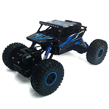1/18 Rock Crawler 4WD Vehicle Remote Control RC High Performance Truck Car 2.4 GHz Control System(China)