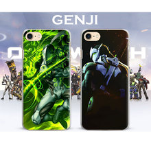 OW Games Heroes HANZO GENJI D.va REAPER Coque Phone Case Cover Shell bag For Apple iPhone 7PLUS 7 6SPLUS 6S 6PLUS 6 5 5S SE 4 4S
