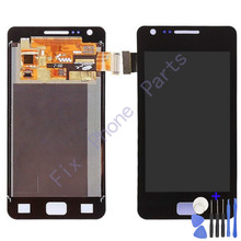 Replacement lcd for Samsung LCD Screen Touch LCD Assembly I9100 Screen Assembly S2 Display Free shipping with Track(China)