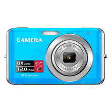 Free ship 2017 Cheap Digital Camera 12MP DC-E70 8X Digital Zoom 2.7'' Inch Anti-Shake Camera Digital Made In China(China)