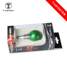 Car-styling Colourful Universal Carbon Fiber Gear Knob For Universal auto shift knob