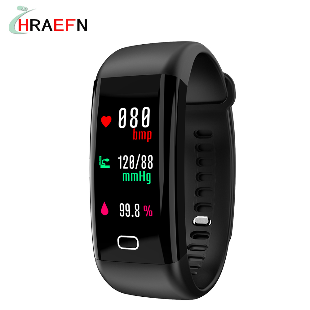 F07 Smart bracelet heart rate monitor Blood Pressure Oxygen Fitness Tracker smartband watch ios android PK xiaomi mi band 2