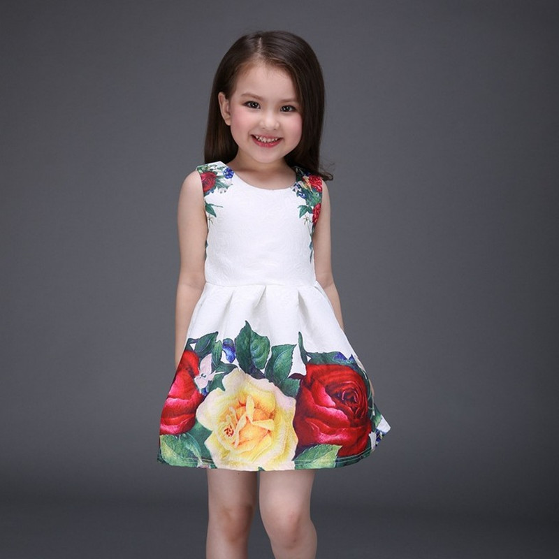 2016 New spring and summer girls clothing princess...