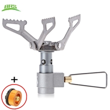 brs-3000t Ultra-light Camping Stove Gas Stoves Titanium Alloy Outdoor Cooker Outdoor Stove Gas Stove Miniature Portable Picnic