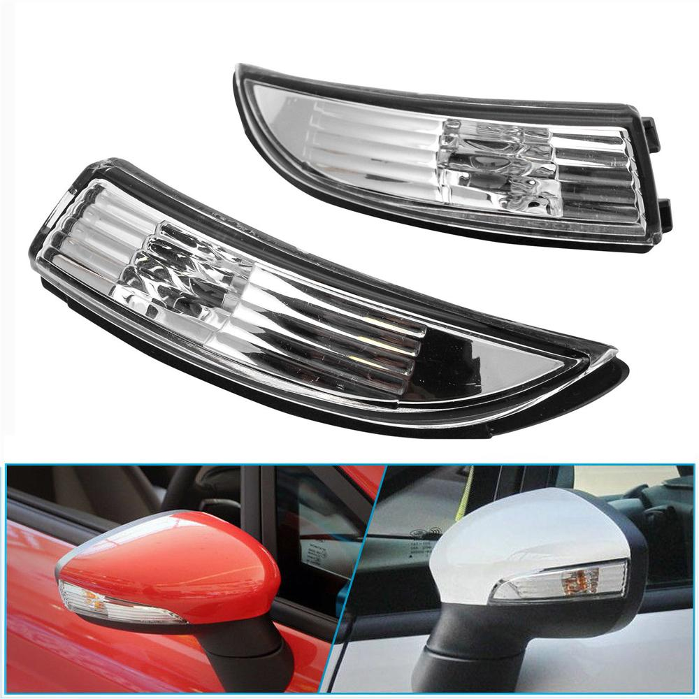 RENAULT LAGUNA MK3 2007-/>2015 LEFT SIDE WING//DOOR MIRROR INDICATOR LENS CLEAR..