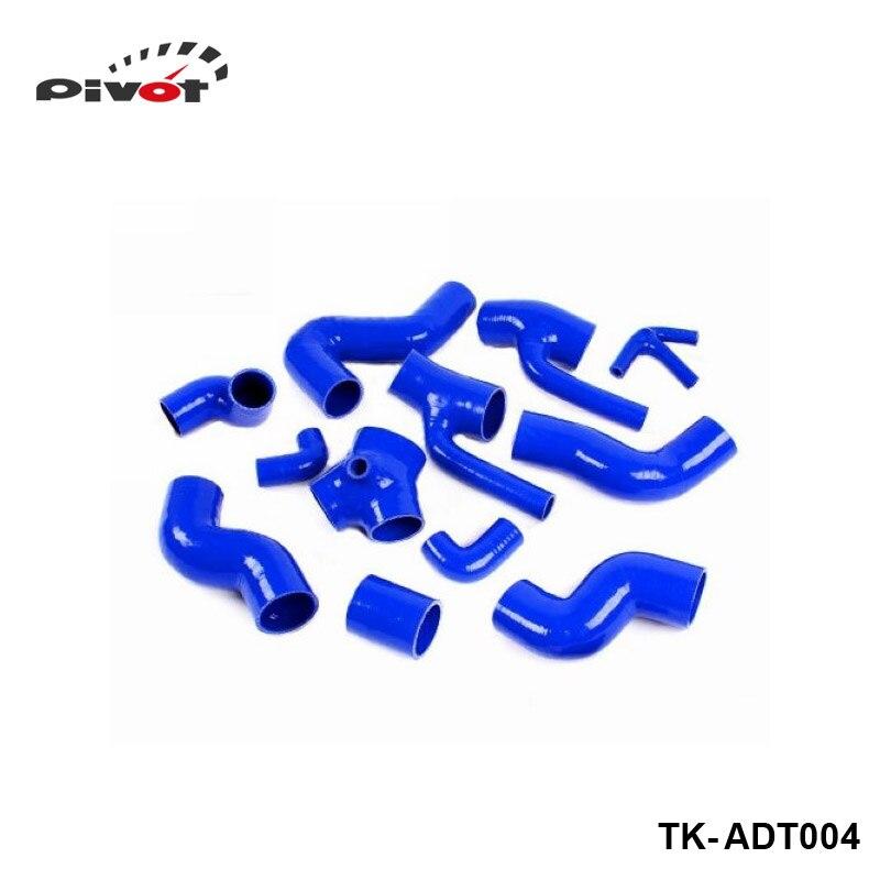 Tansky - Silicone Intercooler Turbo Boost Hose For Audi All S4 / A6 2.7L Bi-Turbo kit 98-03 (12pcs)TK-ADT004<br><br>Aliexpress