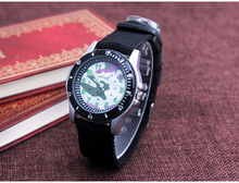 Multifunction Compass Military Watches Outdoor Sports Waterproof Noctilucent Canvas Strap Travel Watch Men Women Watch FD0114