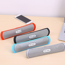 Long Strap Shap Wireless Bluetooth Speaker Super Bass Stereo TF Speaker Wireless For Tablet PC Smartphone for ipad