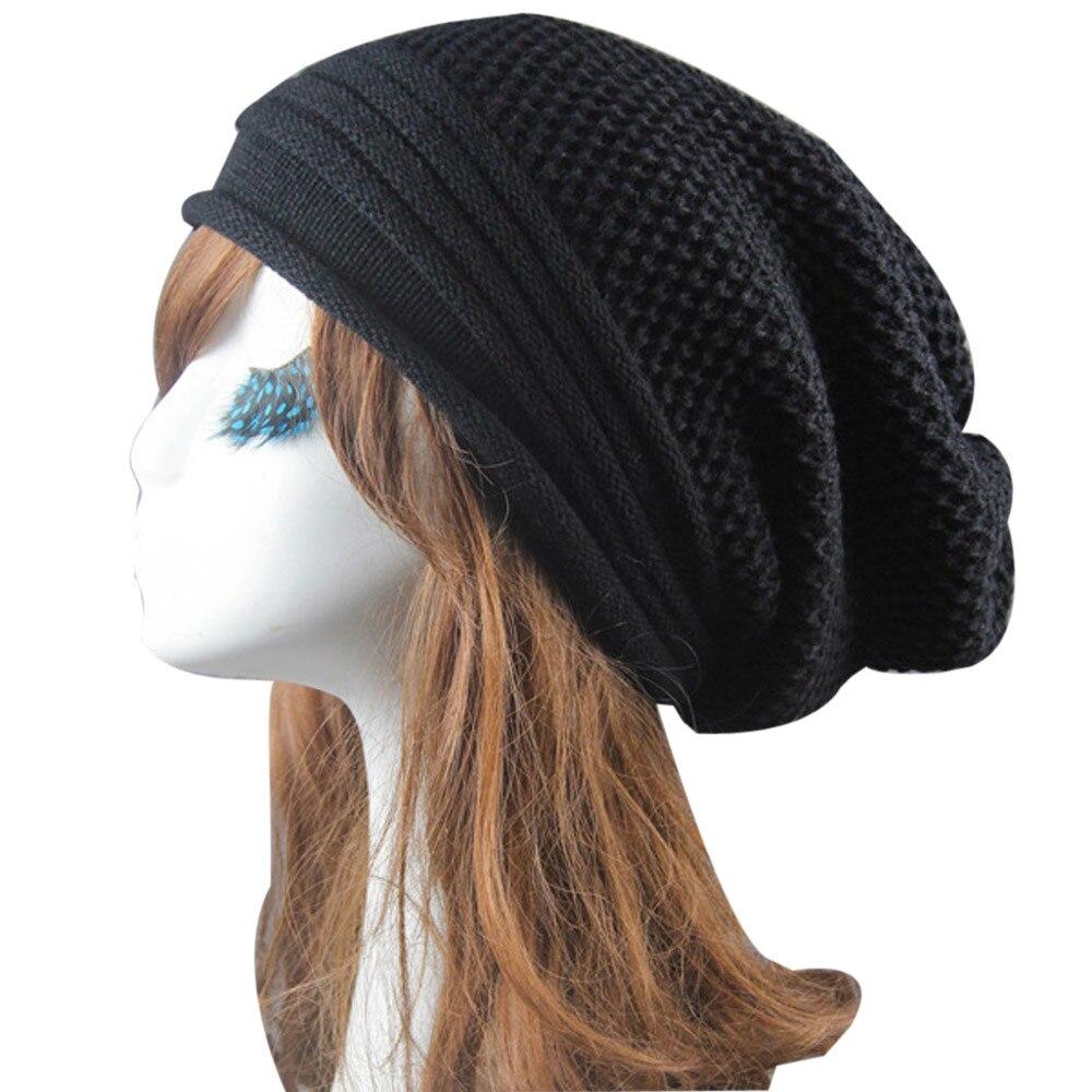Hip-Hop Beanie Hat Baggy Fashion 2017 Female Hats Hot Selling The Knitting Ball Cap Hat Casual Outdoor Cap For Women #416Îäåæäà è àêñåññóàðû<br><br><br>Aliexpress