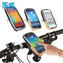 ROSWHEEL CYCLING BIKE BICYCLE FRAME IPHONE HOLDER PANNIER MOBILE PHONE CASE BAG POUCH(China)