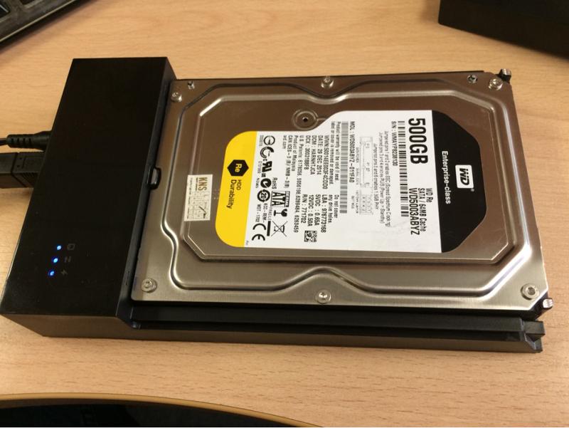 3pcs USB 3.0 to sata hard disk case 3.5 inch hdd ssd enclosure tool free plastic hdd caddy (1)