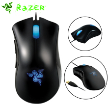 Original Razer Deathadder Mouse 3500DPI Gaming Mouse 3.5G Infrared Sensor Right-handed Gaming Mice Without Retail Package(China)