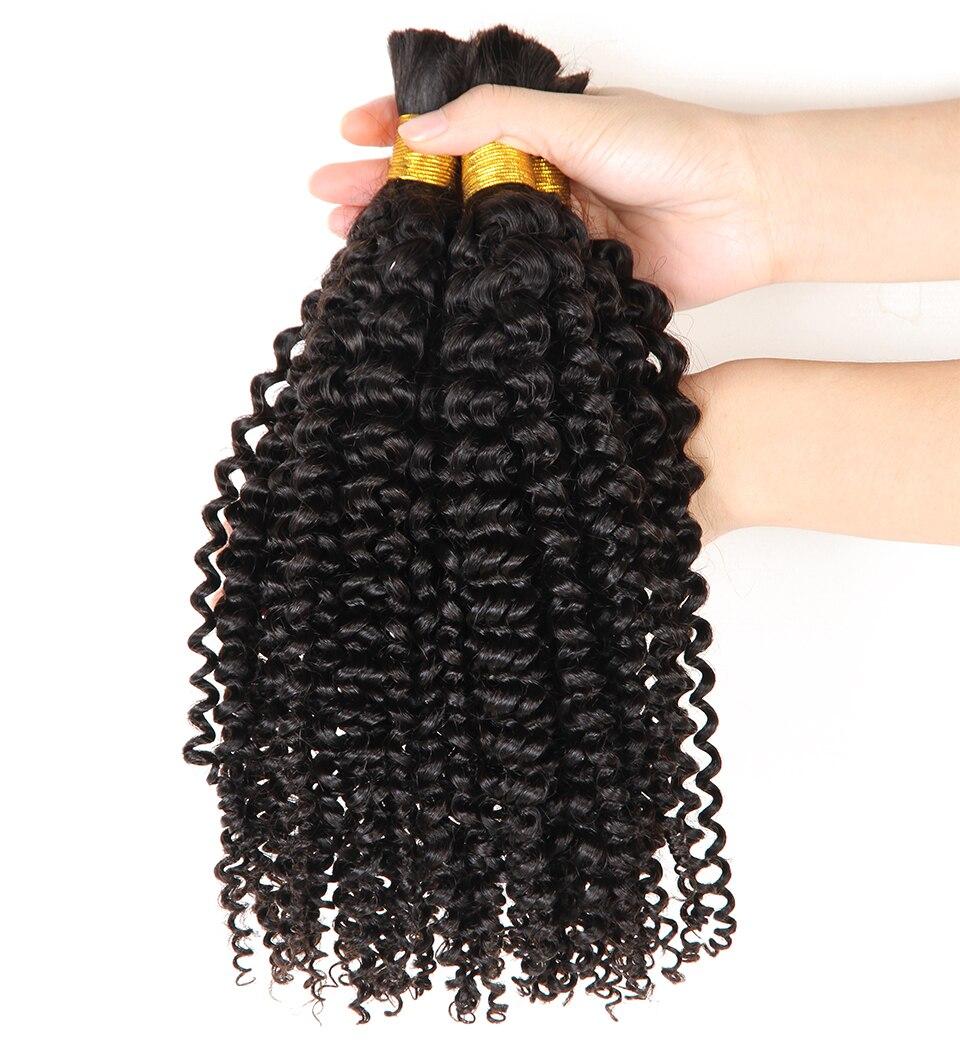 human braiding hair bulk no weft