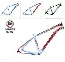 high quality bike frame MTB authentic mosso 619XC aluminium alloy mountain bike 26*16 17 18 inch frame Free shipping(China)