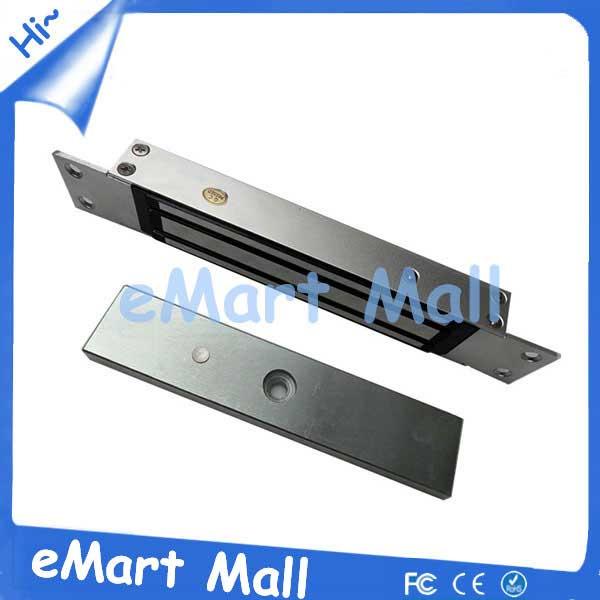 280kg 600lb Electric Magnetic lock for Access Control System 280kg Holding Force 12VDC Embedded Mount<br>