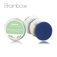Brainbow 3pcs/box Makeup Air Cushion Sponge Puff Pro Dry Wet Dual Use Concealer Foundation Flawless Smooth Powder Cosmetic Puff