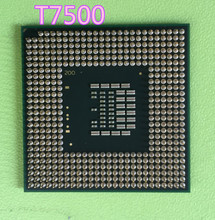 For Intel Core Duo T7500 CPU 4M Cache/2.2GHz/800MHz FSB Dual-Core Laptop processor for 965 chipset Free Shipping(China)