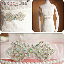 Buy Luxurious Crystal Wedding Belt Color Rhinestone Beads Beads Ribbon Belt Bridal Accessories Wedding Dresses Bridal Sash for $13.52 in AliExpress store