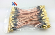 10PCS RF cable assembles SMA female to MCX male connector RG316 cable 15cm Free shipping