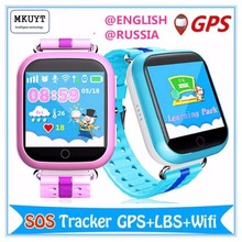 MKUYT GPS WIFI Q750 baby smart watch 1.54inch touch screen SOS Call Location Device Tracker for Kid Safe for all mobile phones(China)